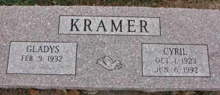 KRAMER, CYRIL - Cedar County, Nebraska | CYRIL KRAMER - Nebraska Gravestone Photos