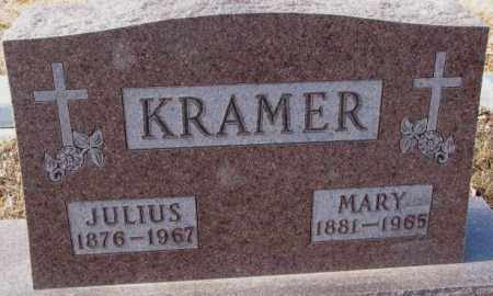 KRAMER, MARY J. - Cedar County, Nebraska | MARY J. KRAMER - Nebraska Gravestone Photos