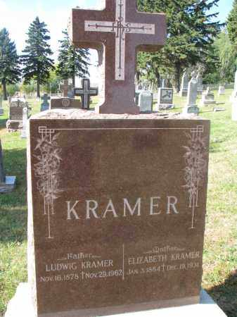 KRAMER, ELIZABETH - Cedar County, Nebraska   ELIZABETH KRAMER - Nebraska Gravestone Photos