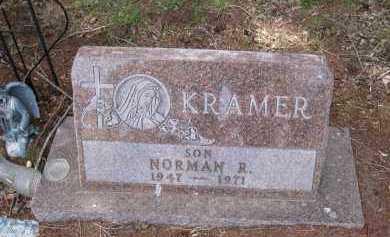 KRAMER, NORMAN R - Cedar County, Nebraska | NORMAN R KRAMER - Nebraska Gravestone Photos