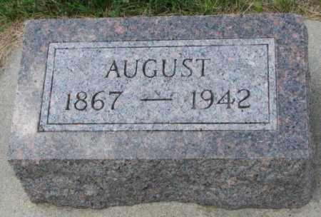 KROHN, AUGUST - Cedar County, Nebraska | AUGUST KROHN - Nebraska Gravestone Photos
