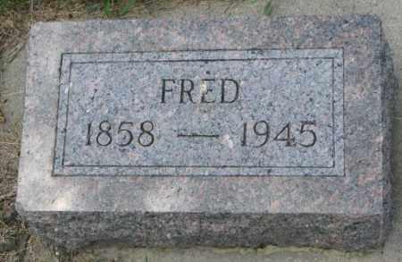 KROHN, FRED - Cedar County, Nebraska | FRED KROHN - Nebraska Gravestone Photos