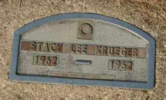 KRUEGER, STACY LEE - Cedar County, Nebraska | STACY LEE KRUEGER - Nebraska Gravestone Photos