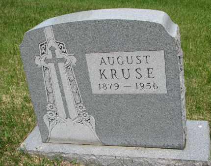 KRUSE, AUGUST - Cedar County, Nebraska | AUGUST KRUSE - Nebraska Gravestone Photos