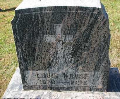 KRUSE, LOUIS - Cedar County, Nebraska   LOUIS KRUSE - Nebraska Gravestone Photos