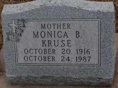 KRUSE, MONICA B. - Cedar County, Nebraska | MONICA B. KRUSE - Nebraska Gravestone Photos