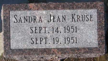 KRUSE, SANDRA JEAN - Cedar County, Nebraska   SANDRA JEAN KRUSE - Nebraska Gravestone Photos