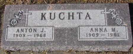 KUCHTA, ANNA M. - Cedar County, Nebraska | ANNA M. KUCHTA - Nebraska Gravestone Photos