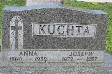 KUCHTA, JOSEPH - Cedar County, Nebraska   JOSEPH KUCHTA - Nebraska Gravestone Photos