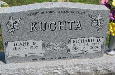 KUCHTA, RICHARD D. - Cedar County, Nebraska | RICHARD D. KUCHTA - Nebraska Gravestone Photos