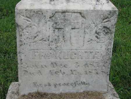 KUCHTA, FR - Cedar County, Nebraska | FR KUCHTA - Nebraska Gravestone Photos