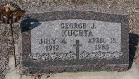 KUCHTA, GEORGE J. - Cedar County, Nebraska | GEORGE J. KUCHTA - Nebraska Gravestone Photos