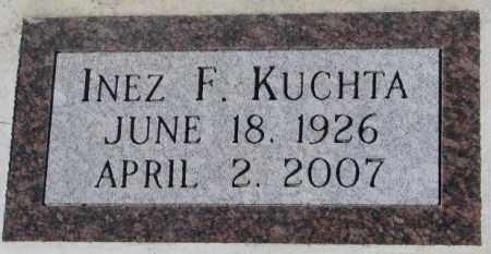 KUCHTA, INEZ F. - Cedar County, Nebraska | INEZ F. KUCHTA - Nebraska Gravestone Photos