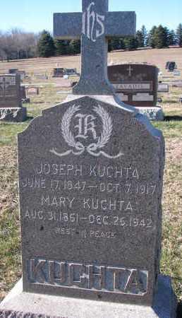 KUCHTA, MARY - Cedar County, Nebraska | MARY KUCHTA - Nebraska Gravestone Photos