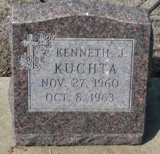 KUCHTA, KENNETH J. - Cedar County, Nebraska | KENNETH J. KUCHTA - Nebraska Gravestone Photos
