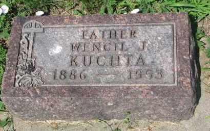KUCHTA, WENCIL J. - Cedar County, Nebraska | WENCIL J. KUCHTA - Nebraska Gravestone Photos