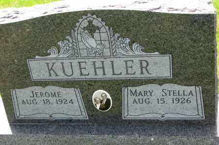 KUEHLER, JEROME - Cedar County, Nebraska | JEROME KUEHLER - Nebraska Gravestone Photos