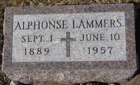 LAMMER, ALPHONSE - Cedar County, Nebraska | ALPHONSE LAMMER - Nebraska Gravestone Photos