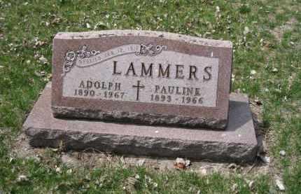 LAMMERS, PAULINE - Cedar County, Nebraska | PAULINE LAMMERS - Nebraska Gravestone Photos