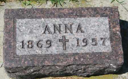 LAMMERS, ANNA - Cedar County, Nebraska | ANNA LAMMERS - Nebraska Gravestone Photos