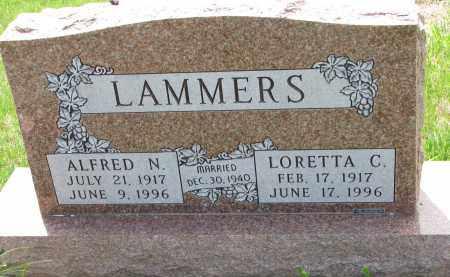 LAMMERS, ALFRED N. - Cedar County, Nebraska   ALFRED N. LAMMERS - Nebraska Gravestone Photos
