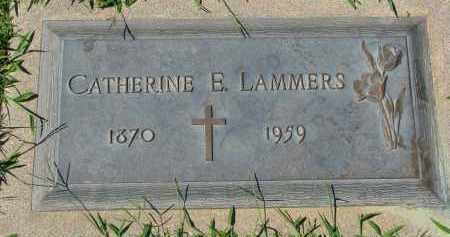 LAMMERS, CATHERINE E. - Cedar County, Nebraska | CATHERINE E. LAMMERS - Nebraska Gravestone Photos