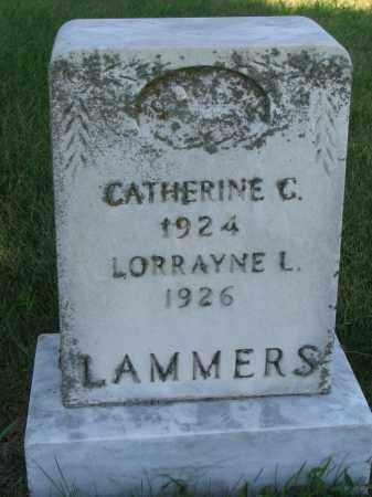LAMMERS, LORRAYNE L. - Cedar County, Nebraska | LORRAYNE L. LAMMERS - Nebraska Gravestone Photos