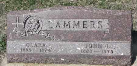 LAMMERS, JOHN L. - Cedar County, Nebraska | JOHN L. LAMMERS - Nebraska Gravestone Photos