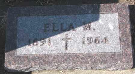 LAMMERS, ELLA M. - Cedar County, Nebraska | ELLA M. LAMMERS - Nebraska Gravestone Photos