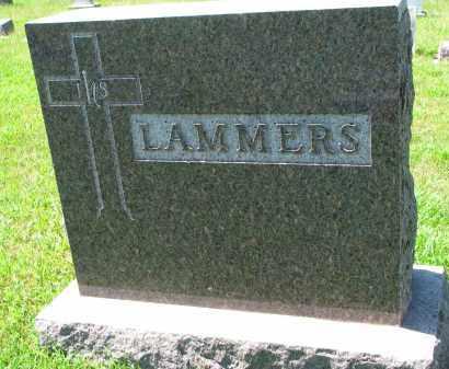 LAMMERS, FAMILY STONE - Cedar County, Nebraska | FAMILY STONE LAMMERS - Nebraska Gravestone Photos