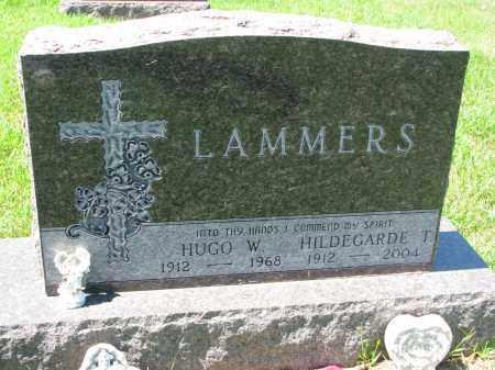 LAMMERS, HILDEGARDE T. - Cedar County, Nebraska | HILDEGARDE T. LAMMERS - Nebraska Gravestone Photos