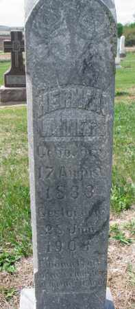 LAMMERS, HERMAN (CLOSEUP) - Cedar County, Nebraska | HERMAN (CLOSEUP) LAMMERS - Nebraska Gravestone Photos