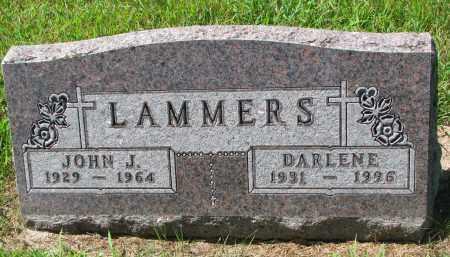 LAMMERS, DARLENE - Cedar County, Nebraska | DARLENE LAMMERS - Nebraska Gravestone Photos