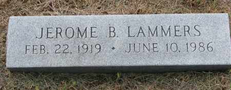 LAMMERS, JEROME B. - Cedar County, Nebraska | JEROME B. LAMMERS - Nebraska Gravestone Photos