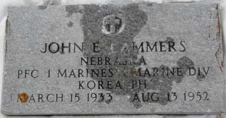 LAMMERS, JOHN E. (KOREA) - Cedar County, Nebraska | JOHN E. (KOREA) LAMMERS - Nebraska Gravestone Photos