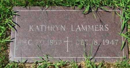 LAMMERS, KATHRYN - Cedar County, Nebraska   KATHRYN LAMMERS - Nebraska Gravestone Photos