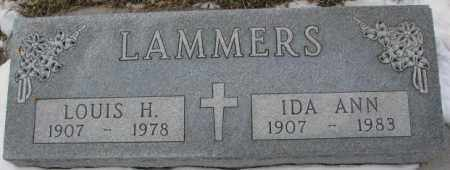 LAMMERS, IDA ANN - Cedar County, Nebraska   IDA ANN LAMMERS - Nebraska Gravestone Photos