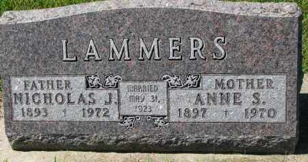 LAMMERS, ANNE S. - Cedar County, Nebraska | ANNE S. LAMMERS - Nebraska Gravestone Photos