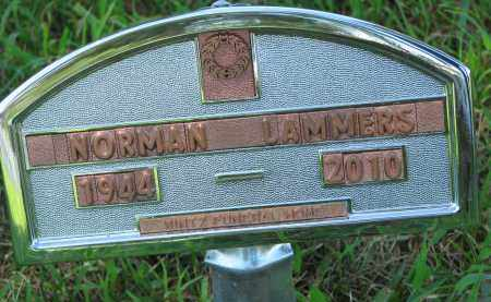 LAMMERS, NORMAN - Cedar County, Nebraska | NORMAN LAMMERS - Nebraska Gravestone Photos