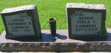 LAMMERS, VIOLA T. - Cedar County, Nebraska | VIOLA T. LAMMERS - Nebraska Gravestone Photos