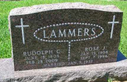 LAMMERS, ROSE J. - Cedar County, Nebraska | ROSE J. LAMMERS - Nebraska Gravestone Photos