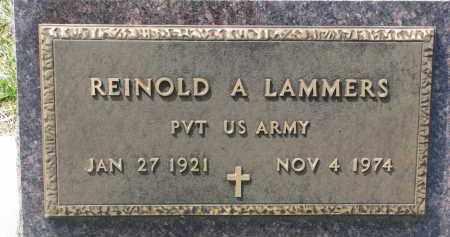 LAMMERS, REINHOLD A. - Cedar County, Nebraska | REINHOLD A. LAMMERS - Nebraska Gravestone Photos