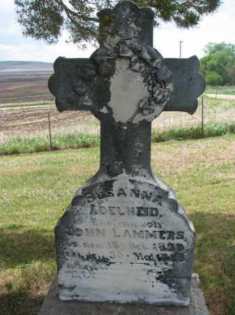 LAMMERS, SUSANNA ADELHEID - Cedar County, Nebraska | SUSANNA ADELHEID LAMMERS - Nebraska Gravestone Photos