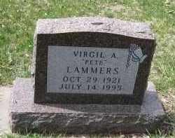LAMMERS, VIRGIL A. - Cedar County, Nebraska | VIRGIL A. LAMMERS - Nebraska Gravestone Photos
