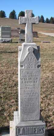 LAMMERS, WILHELM - Cedar County, Nebraska | WILHELM LAMMERS - Nebraska Gravestone Photos