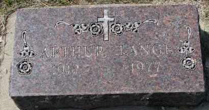 LANGE, ARTHUR - Cedar County, Nebraska | ARTHUR LANGE - Nebraska Gravestone Photos