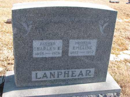 LANPHEAR, CHARLES E. - Cedar County, Nebraska | CHARLES E. LANPHEAR - Nebraska Gravestone Photos