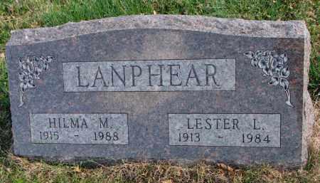 LANPHEAR, HILMA M. - Cedar County, Nebraska | HILMA M. LANPHEAR - Nebraska Gravestone Photos