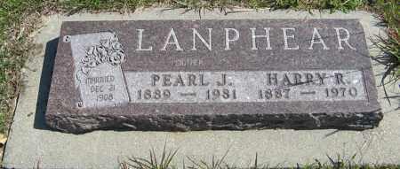 LANPHEAR, PEARL J. - Cedar County, Nebraska | PEARL J. LANPHEAR - Nebraska Gravestone Photos