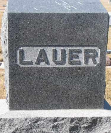 LAUER, PLOT - Cedar County, Nebraska   PLOT LAUER - Nebraska Gravestone Photos